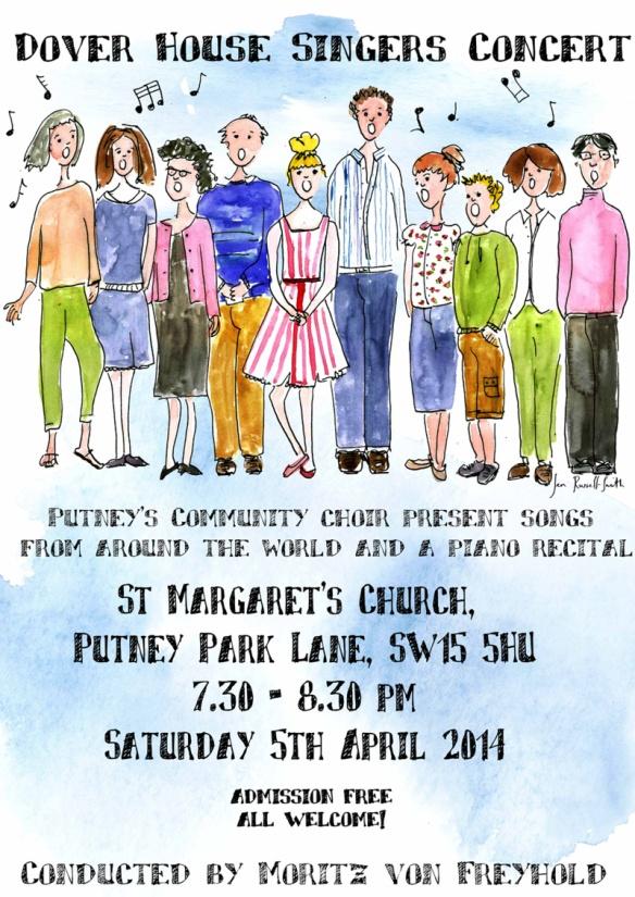 Spring concert poster
